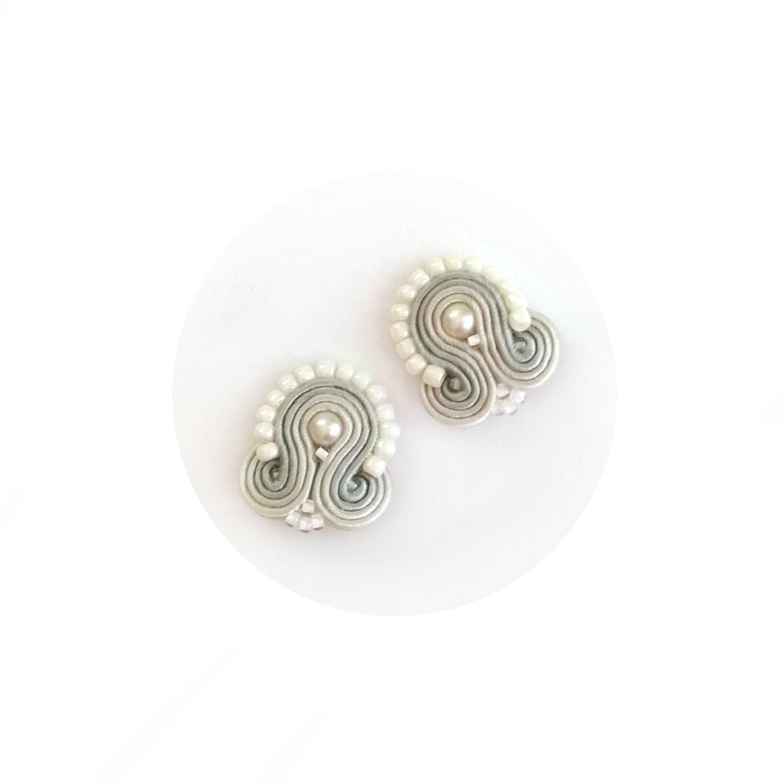 Soutache Earrings – Clip On Earrings