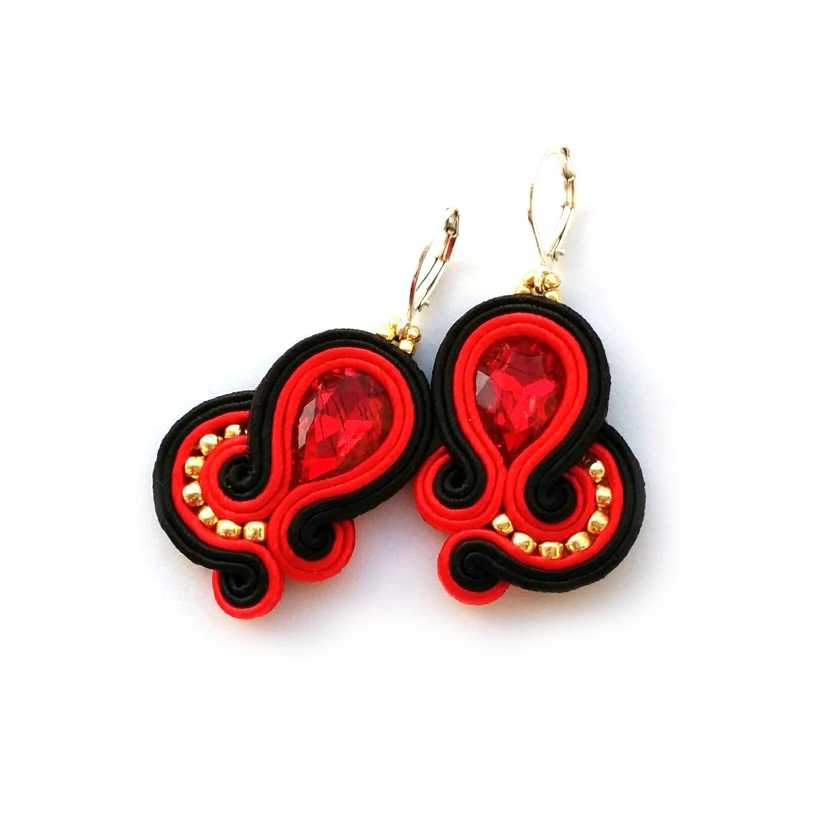 Soutache Earrings – Dangle Earrings