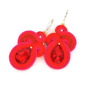 soutache-earrings-red-bridal-earrings-wholesale-jewelry-statement-earrings-red-carpet-earrings-02