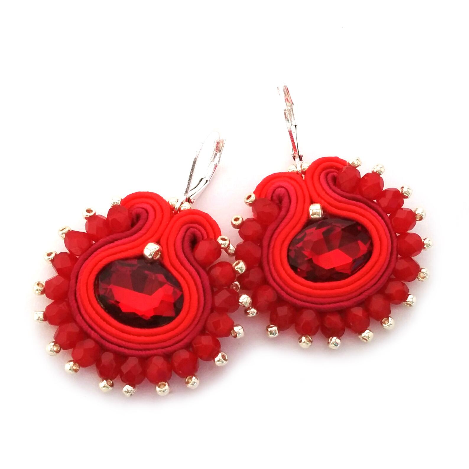 Soutache Earrings – Statement Dangle Earrings