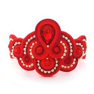 soutache-bracelet-statement-bracelet-red-bracelet-01