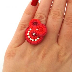 soutache-ring-statement-ring-red-cocktail-ring-03a